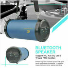 Bluetooth Wireless Speaker Rechargeable Stereo BASS TF USB AUX FM Radio Subwoofe
