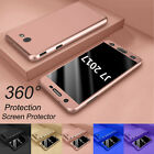 For Samsung Galaxy J7 V J7 Prime 360°shockproof Case Cover With Screen Protector