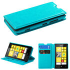 For Lumia 520  MyJacket Wallet +Tray Protector Cover Case
