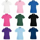 Fruit Of The Loom Ladies Lady-Fit Premium Short Sleeve Polo Shirt (BC1377)