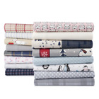 Cuddl Duds Flannel Sheet Set 100% Cotton Heavy Weight Full Queen King Brand New image