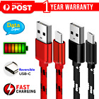 Usb Type C Charging Charger Cable Samsung Galaxy S8 S9 S10 S20 Plus Oppo Nokia