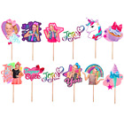 Kyпить JOJO SIWA CAKE TOPPER TOPPERS CUPCAKE BALLOON SUPPLIES DECORATIONS BALLOON THEME на еВаy.соm