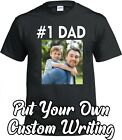 Number 1 Dad Cute Funny Fathers Day Gift from Wife, Son, Daughter, Mom Shirt
