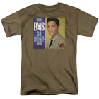 Elvis Presley G I Blues Album Short Sleeve T-Shirt Licensed Graphic SM-3X