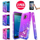 For Samsung Galaxy J2 Core Case Galaxy J2 Dash/Pure/J2 Prime Girly Diamond Cover