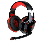 3.5mm Gaming Headset MIC LED Headphones Surround for PS4 Xbox One X 360 E PC