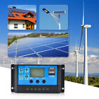 Solar Panel Regulator Battery Charger Controller 10A-60A 12V/24V With Dual USB