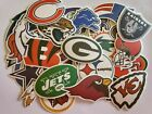 NFL LOGO DIE CUT VINYL STICKERS  SELECT YOUR TEAM OUTDOOR INDOOR on eBay