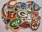NFL LOGO DIE CUT VINYL STICKERS  SELECT YOUR TEAM OUTDOOR USE on eBay