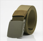 Men's Military Outdoor Sport Military Tactical Nylon Waistband Canvas Web Belt