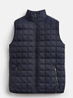 Joules Ridgeway  Mens Square Quilt Gilet Body Warmer   Mar Navy
