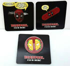 Deadpool Club Merc Lootcrate Pin Collection- Your Choice of 3