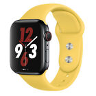 Silicone strap band for Apple Watch 42mm 38mm 44mm 40mm Rubber