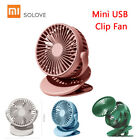 Xiaomi SOLOVE USB Fan 360° Rotation Adjustable Clip-on Desk Bedside Cooler V6W3