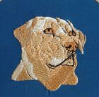 Labrador Yellow Head Dog Embroidery Many Items Quilt Sewing Carols Crate Cover