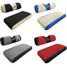 Washable Polyester Mesh Golf Cart Seat Cover Set Fit EZGO RXV TXT Golf Carts