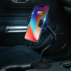 Qi Wireless Charger Car Cup Charging Phone Mount Holder For Samsung Note9 iPhone
