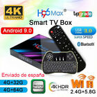 H96 Max RK3318 Android 9.0 Tv Box 4GB 64GB 2.4G&5.8G WiFi 4K Internet TV Player