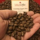 COLOMBIAN ORGANIC RFA  Hand Roasted 100% Arabica Coffee Beans/Grounds