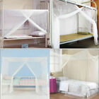 4 Corner Bed Canopy Mosquito Fly Net Full Queen Small King Size Netting Bedding image