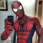 Classic Raimi Spiderman Adult Kids Halloween Cosplay Costume Lycra zentai Suit