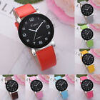 Fashion Women's Casual Quartz Analog Leather Band Hook Buckle Watch Wrist Watch image