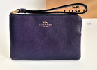Coach F58032 F58035 Corner Zip Wristlet New With Tags 60 VARIATION CHOOSE YOURS