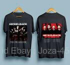 NickelBack Tour 2019 with Dates Men's Black T-Shirt Size : S-XXL Made in Usa image