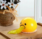Squishy Puking Egg Yolk Stress Ball With Yellow Goop Relieve Stress Squeeze toys