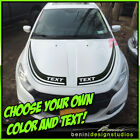 Hood Racing Stripes Blackout Graphics 7 - Fits 2013-2016 Dodge Dart $59.99 USD on eBay