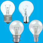 Clear Golf Round Dimmable Standard Light Bulb 25W 40W 60W BC ES SBC SES Lamps