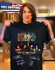 Black  Black Official KISS Band T-Shirt End of the Road Farewell Tour 2019 S-3XL image