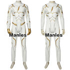 Superhero Godspeed Costume August Heart Cosplay Men Outfit Halloween Party Suit