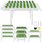 Hydroponic Grow Pipe Kit 36/54/72/90/108 Holes Garden 4 Pipes System 10 Pipes