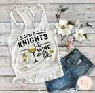 Vegas Golden Knights-Golden Knights Tank Top-Knights And Wine-Knights Girl-Woman $18.99 USD on eBay