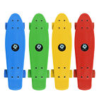 "22"" Skateboard Solid Penny Style Board Plastic Board 4 Colors 2 Kinds of Wheels image"