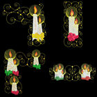 CURLY CANDLES - 4inch-10 Machine Embroidery Designs CD (FREE SHIPPING)