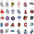MLB BASEBALL TEAM LOGO 2D KEYCHAIN