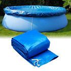 8/10/12Ft Solar Pool Round Inflatable Fast Set Swimming Paddling Pool PE Cover