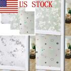 BY Self Adhesive Glass Film Window Sticker Bathroom Glass Sticker PVC Frosted US