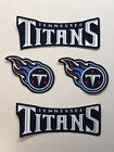 Iron On Sew On Transfer Applique Tennessee Titans Handmade Cotton Patches $5.99 USD on eBay