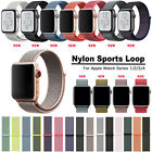 Nylon Strap Sport Loop Band Woven For iWatch Apple Watch Series 3 2 1 42mm 38mm image