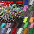 Squirmy Fly Tying Materials Holographic Tinsel Flash Lure Making Material