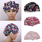 Floral Scrub Cap Hospital Working Medical Surgical Surgery Hat for Doctor Nurses