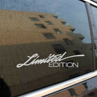 1* Letter Decal Auto-styling Suv Car Sticker Limited Edition Car Accessories