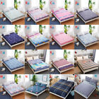 Floral Printed Fitted Sheet Twin Full Queen King Cotton Bed Sheet Cover 3 Size image