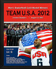"""2012 OLYMPICS TEAM USA Gold Medal Winners LeBron James 8x10"""" Collector's Plaque"""