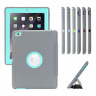 Smart Protective Heavy Duty Rubber Case Cover For iPad Air 2 3 4 Mini