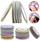 Striping Tape Line Nail Art Decoration Laser Glitter Beauty Accessories for DIY